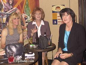 Sharon DeWitt at Joe Hanon's
