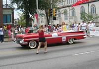 Sharon DeWitt at Pridefest